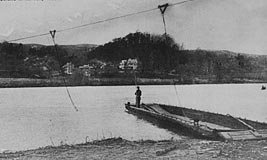 Ingles Ferry, early 1900s