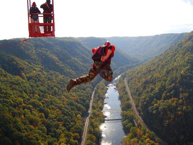 Aerial River Shot