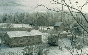 Winter at the Settlement