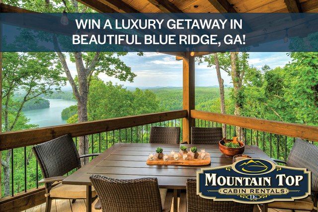 Mtn Top Cabins Giveaway 2020 - full size