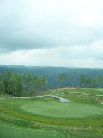 Primland's golf course