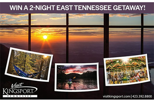 Win a 2-night East Tennessee Getaway!