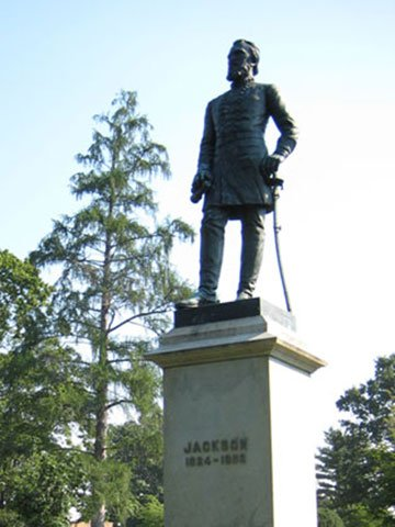 Stonewall Jackson Sculpture