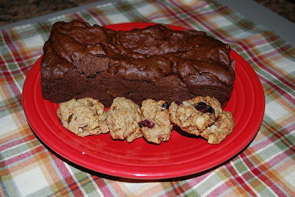 3. Persimmon bread and cookies.JPG
