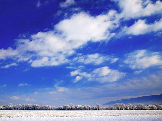 Snowy Shenendoah Valley