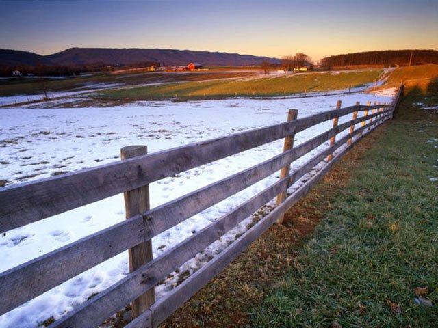 Shenendoah County Fence