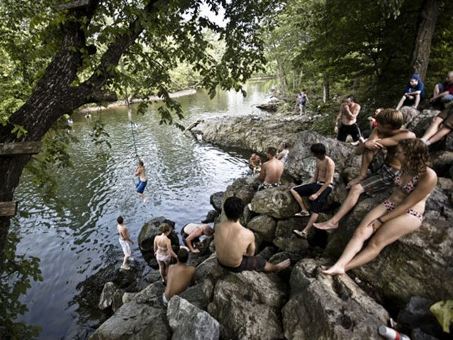 Shenendoah River Swimming Hole