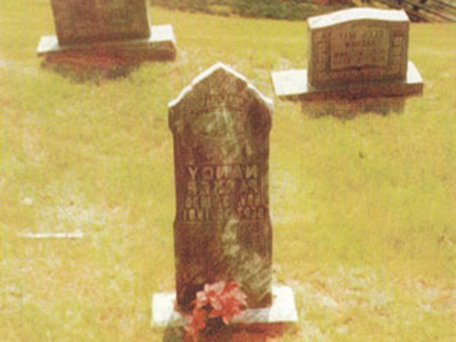 Grave Site of Daughter Nancy