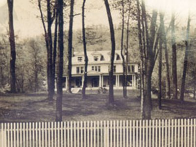 The Raine Home, About 1920